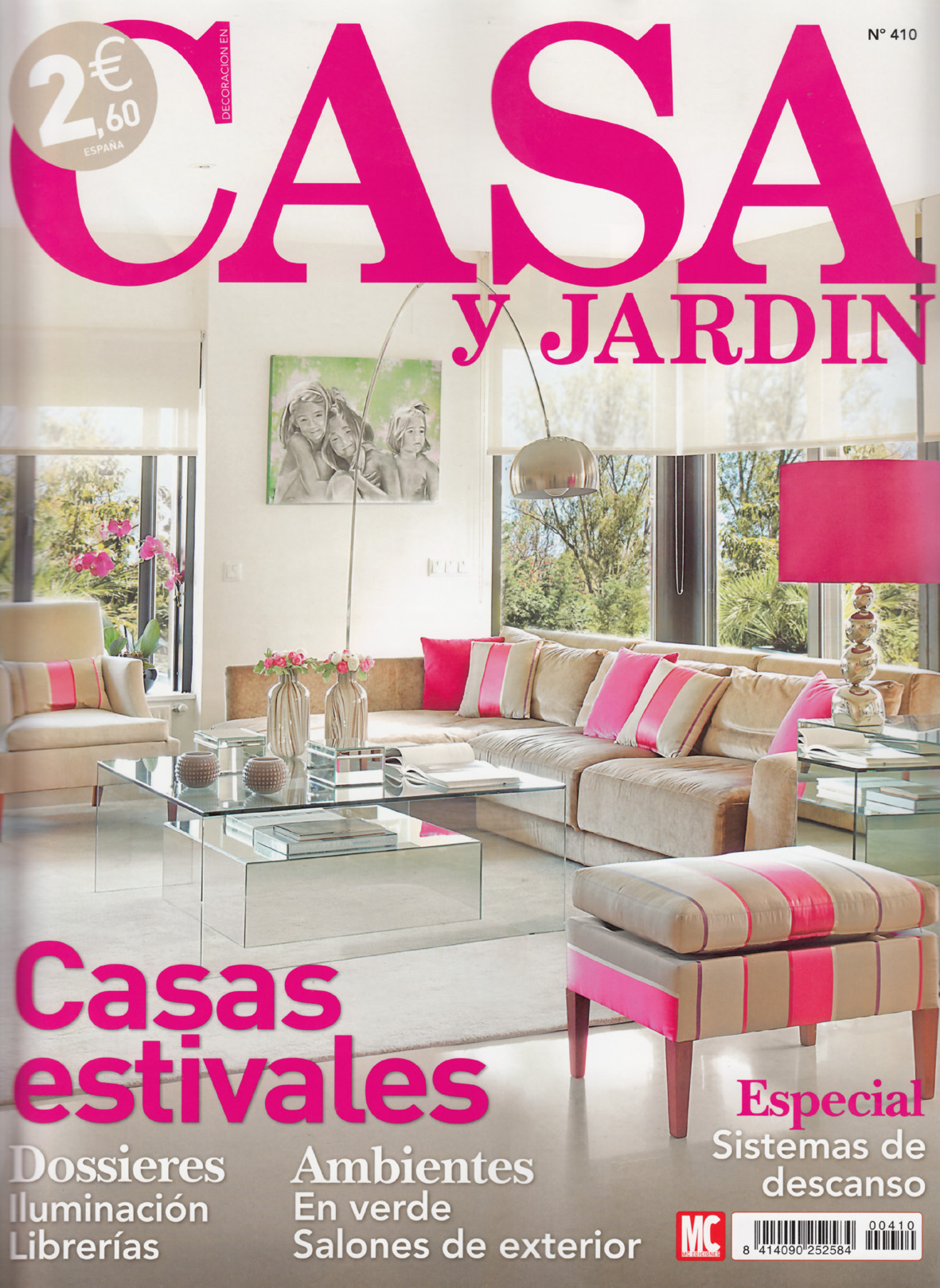 Campana extractora pando en la revista casa y jard n for Revista decoracion mi casa