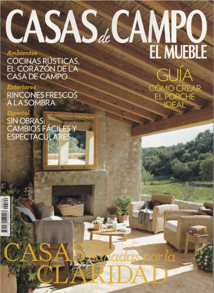 Campana Extractora Pando En La Revista Casas De Campo Friendly Cooking