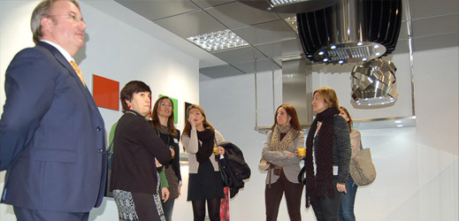 Inauguración Showroom campanas extractoras Pando en Madrid